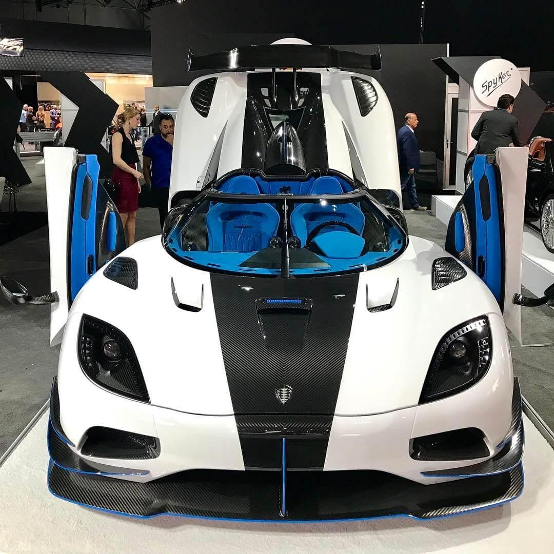 Koenigsegg Agera Rs White: EXCLUSIVE: Koenigsegg Agera RS1 Owner Whitesse JR