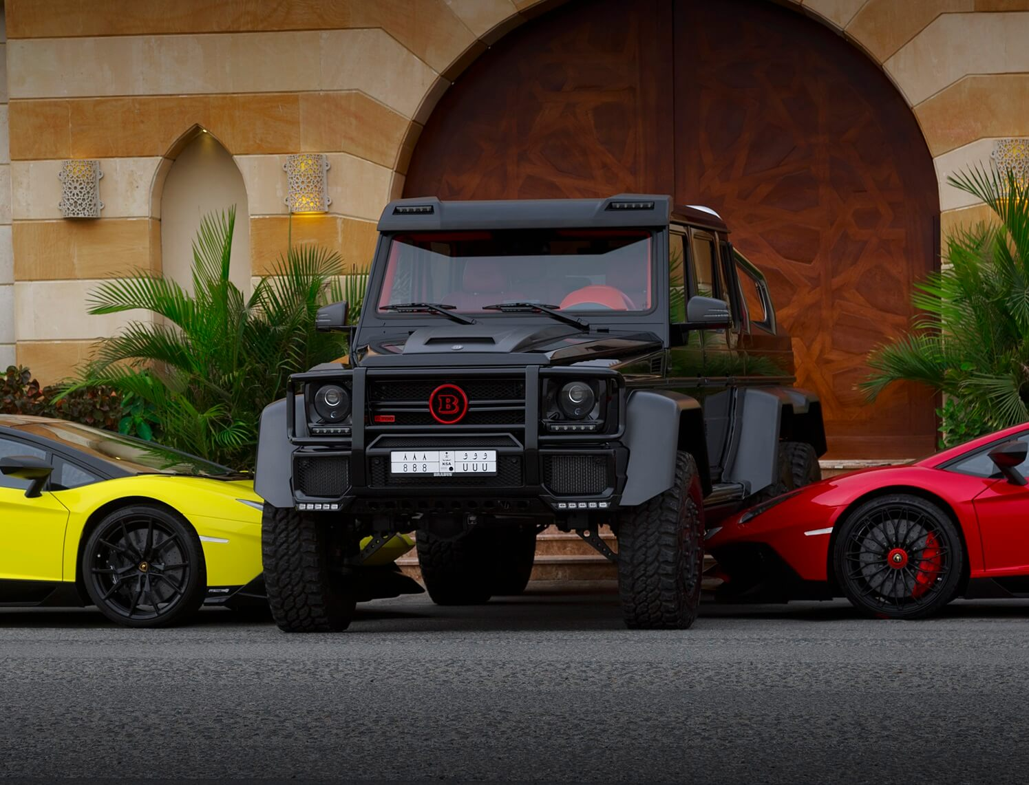 Exclusive Brabus 6x6 1of1 In Saudi Arabia Cars247