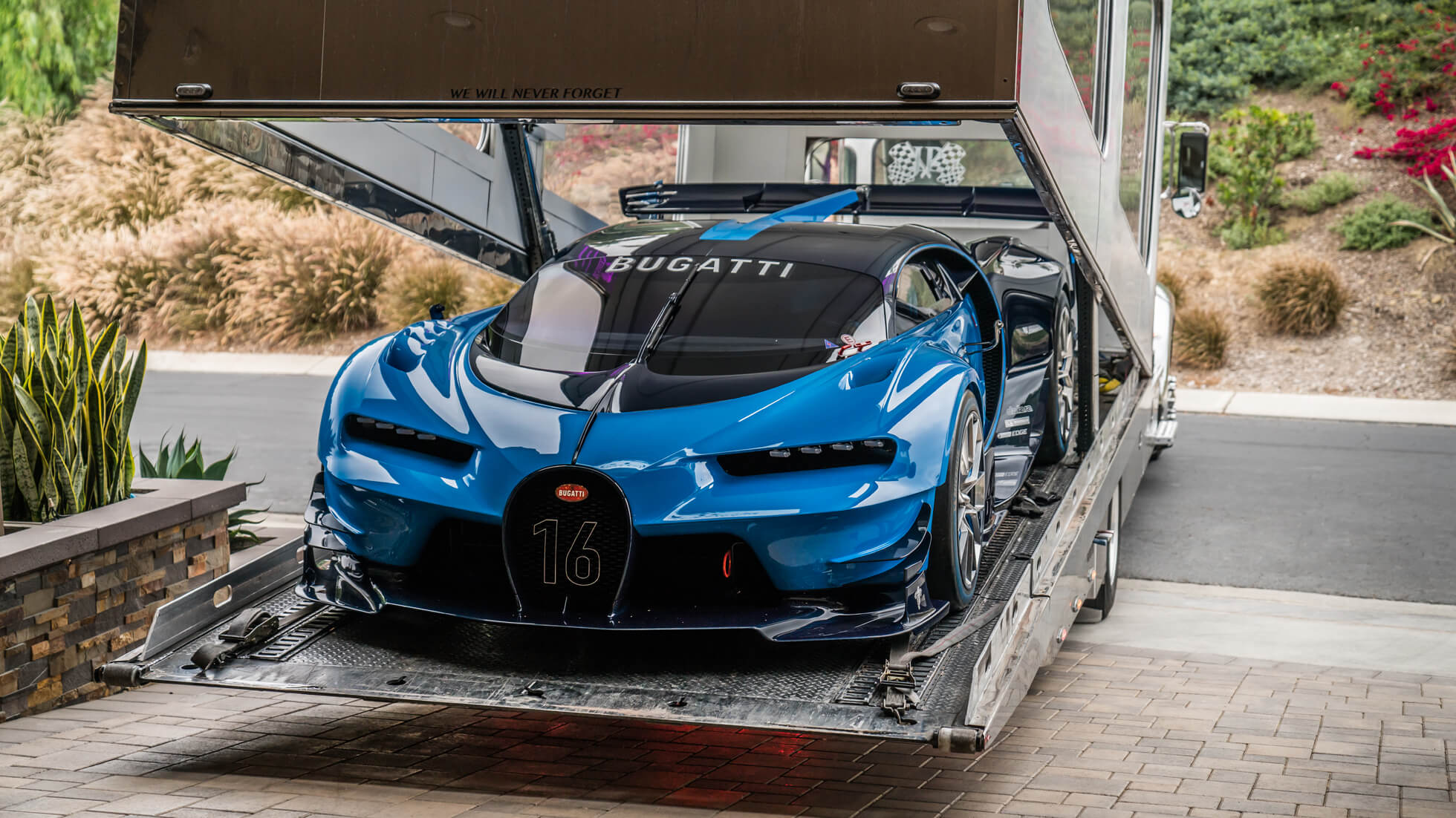 Bugatti Vision Gt >> Exotic Bugatti Vision Gt 1of1 Delivered In Beverly Hills