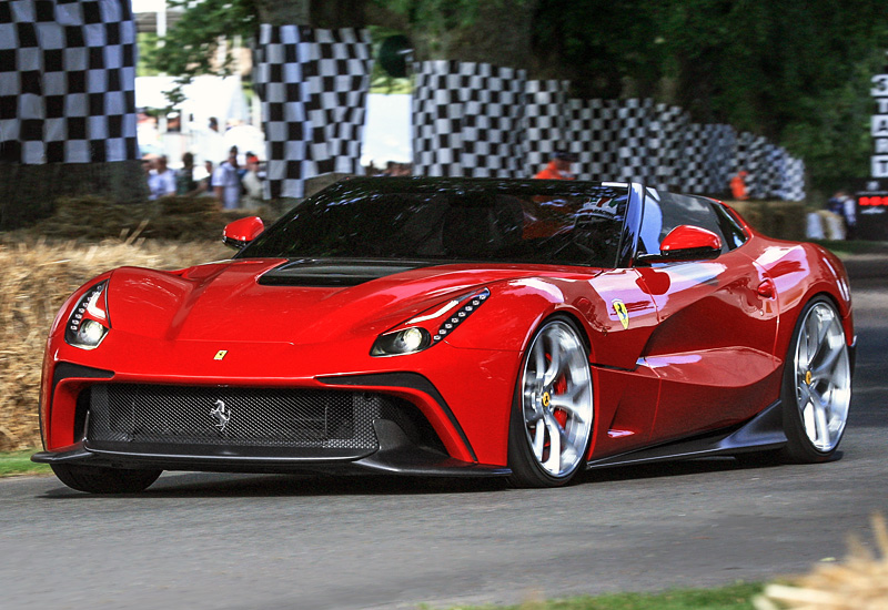 Exotic Ferrari F12 Trs The Rarest Horse In The World