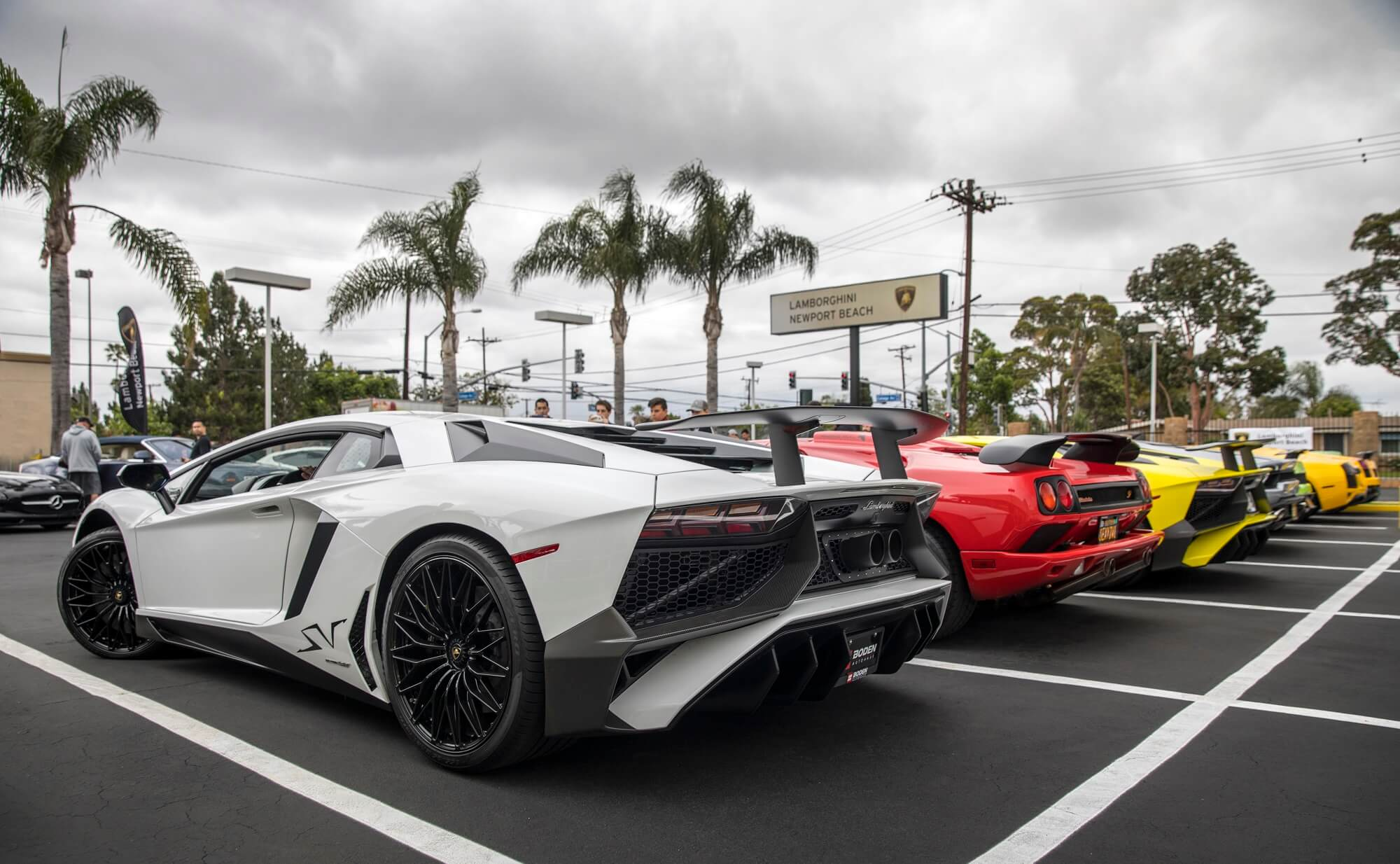 Exclusive Lamborghini Newport Beach Supercar Show Cars247