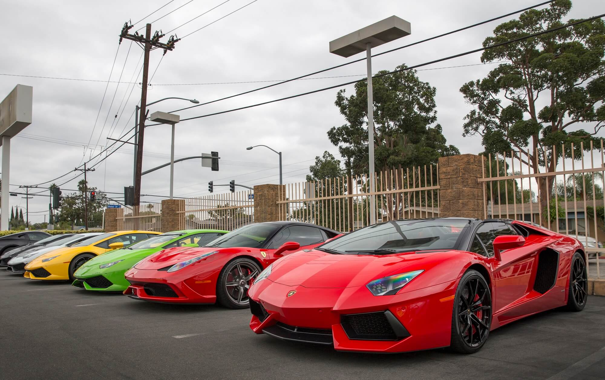 exclusive: lamborghini newport beach supercar show - cars247