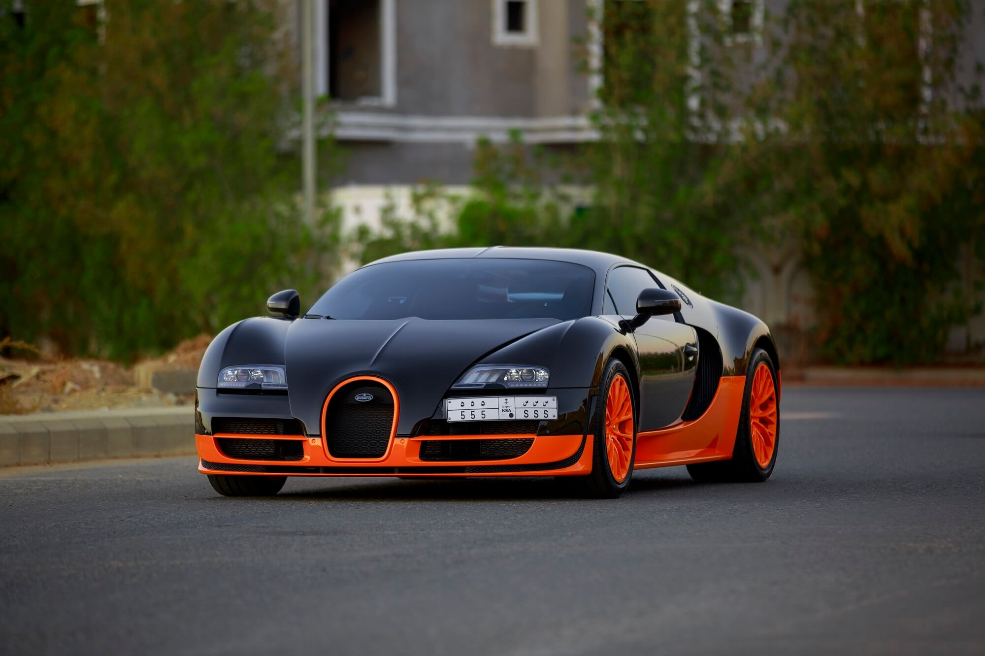 exclusive bugatti veyron super sport world record edition 1of5 in saudi arabia cars247