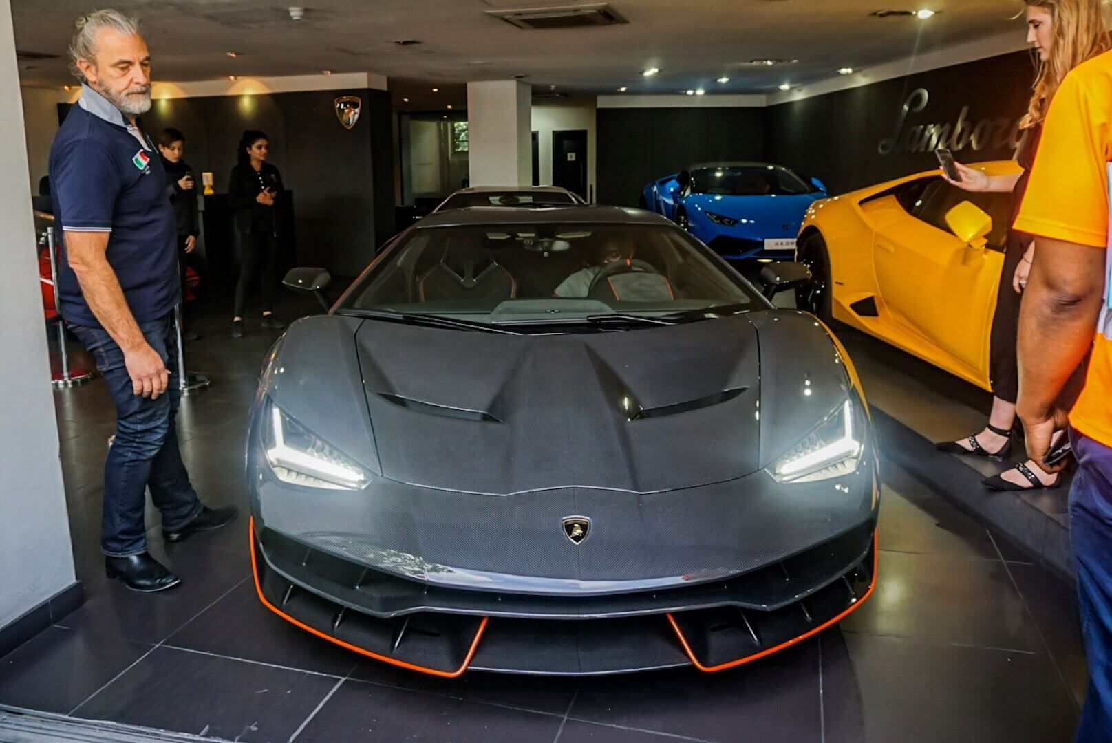 Lamborghini Centenario London