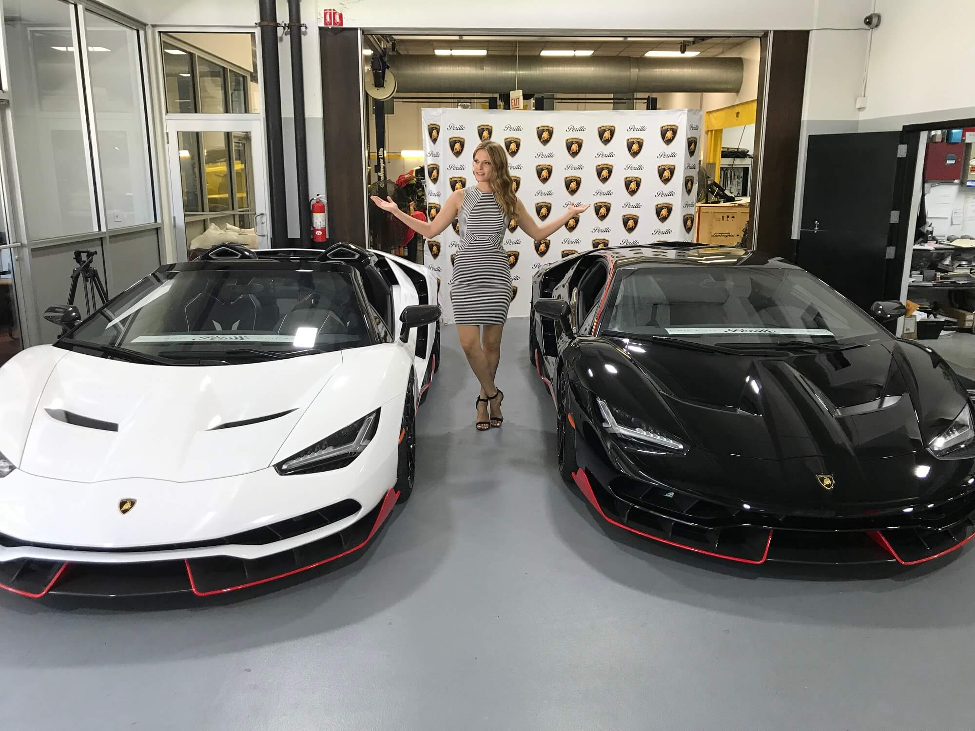 Exclusive Two Lamborghini Centenario S Delivered To Lamborghini